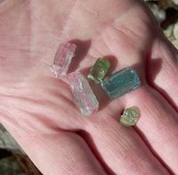 Collect Raw Tourmaline